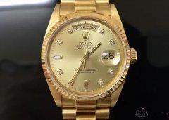劳力士18038经典款黄金自动机械腕表