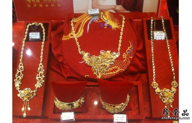 二手潮宏基黄金首饰含金量怎么样